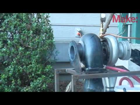 Make: Labs Jet Engine Test