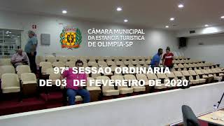 97ª Sessão Ordinária