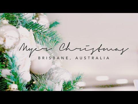 2018 Myer Christmas Windows And Decorations | Brisbane, Australia