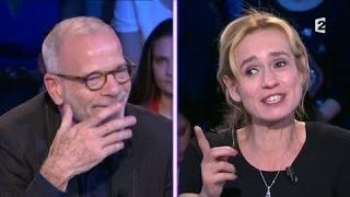 Sandrine Bonnaire & Pascal Greggory 22 mars 2014 On n'est pas couché #ONPC