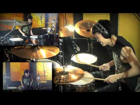 Cry Out - One Ok Rock Drum Cover by Man Panadorn