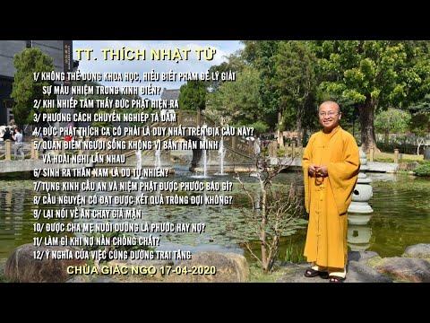 Vấn đáp Phật pháp ngày 17-04-2020 (HD) | TT. THÍCH NHẬT TỪ