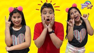 Maria Clara foi clonada! Uma história engraçada para crianças ♥ My sister was cloned