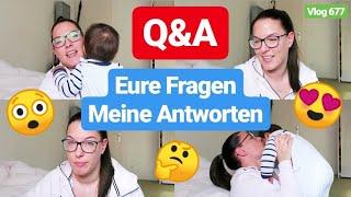 Q&A! Hausbau, Armut, Baby Mädchenname, filmen im Haus,...l Vlog 677