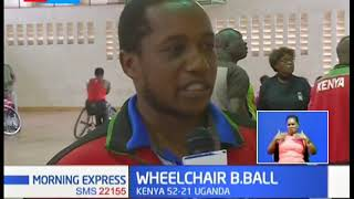 Kenya women beat Uganda in Wheelchair Basket Ball finals