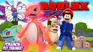 ROBLOX - POKEMON PET TRAINER SIMULATOR!!