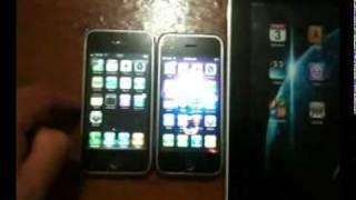 iphone 3g vs iphone 2g vs ipad 1g
