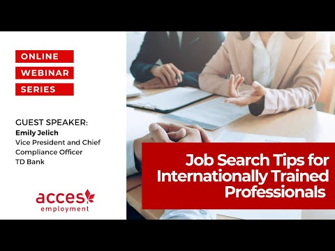 Job Search Preparation Before You Arrive in Canada
