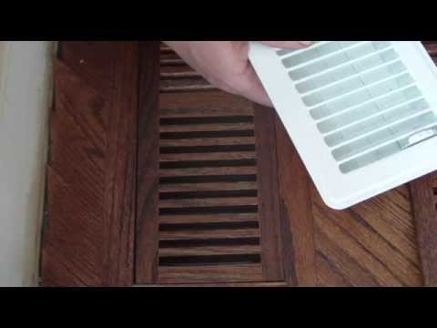 Wood Floor Vents With Dampers