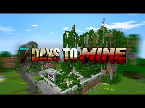 7 Days To Mine #01 - ПЕРВЫЕ ИНСТРУМЕНТЫ И МЕСТО ДЛЯ БАЗЫ - 7 Days To Die в майнкрафт