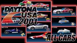 Daytona USA 2001 Sega Dreamcast All Cars in 60fps