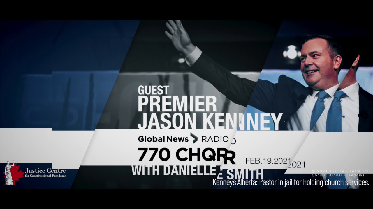 Kenney's Alberta: Where a Pastor is in jail for refusing to stop attending and holding church