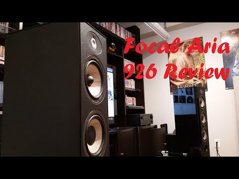 Focal Aria 926 stereo speakers review (can sound harsh if not using