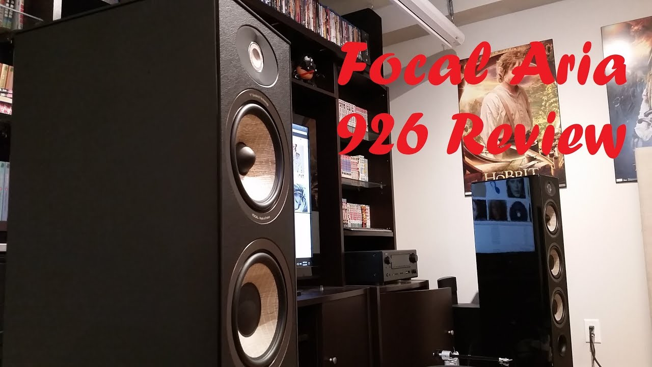 Focal Aria 926 stereo speakers review (can sound harsh if not using right  equipment to drive it)