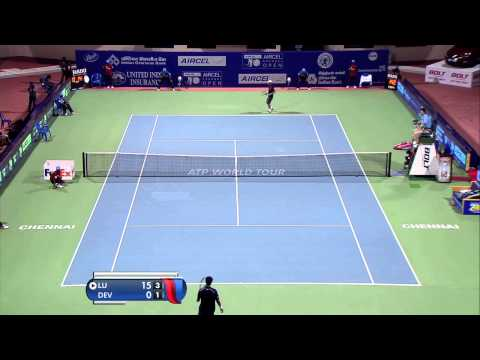 ACO 2015 - Day 2: Match 3 Highlights - Y Lu vs S Devvarman