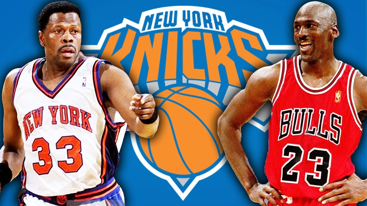 enfermedad siesta Cuervo  The Untold Story Of Michael Jordan Joining The New York Knicks - YouTube