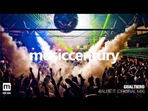 GUALTIERO - Pause It (Original Mix) || mCCy ||