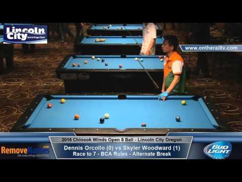 Dennis Orcollo vs Skyler Woodward - 2016 CWO 8 Ball Championships