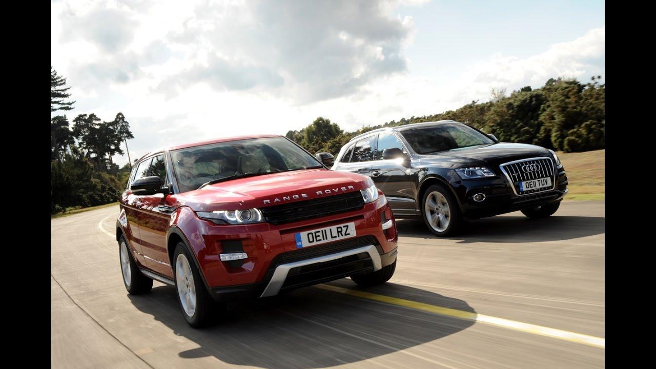 Range Rover Vs Land Rover >> 2017 Range Rover Evoque Vs Audi Q5 ULTIMATE REVIEW ...