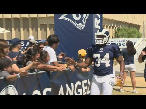 LA Rams Training Camp In Full Swing