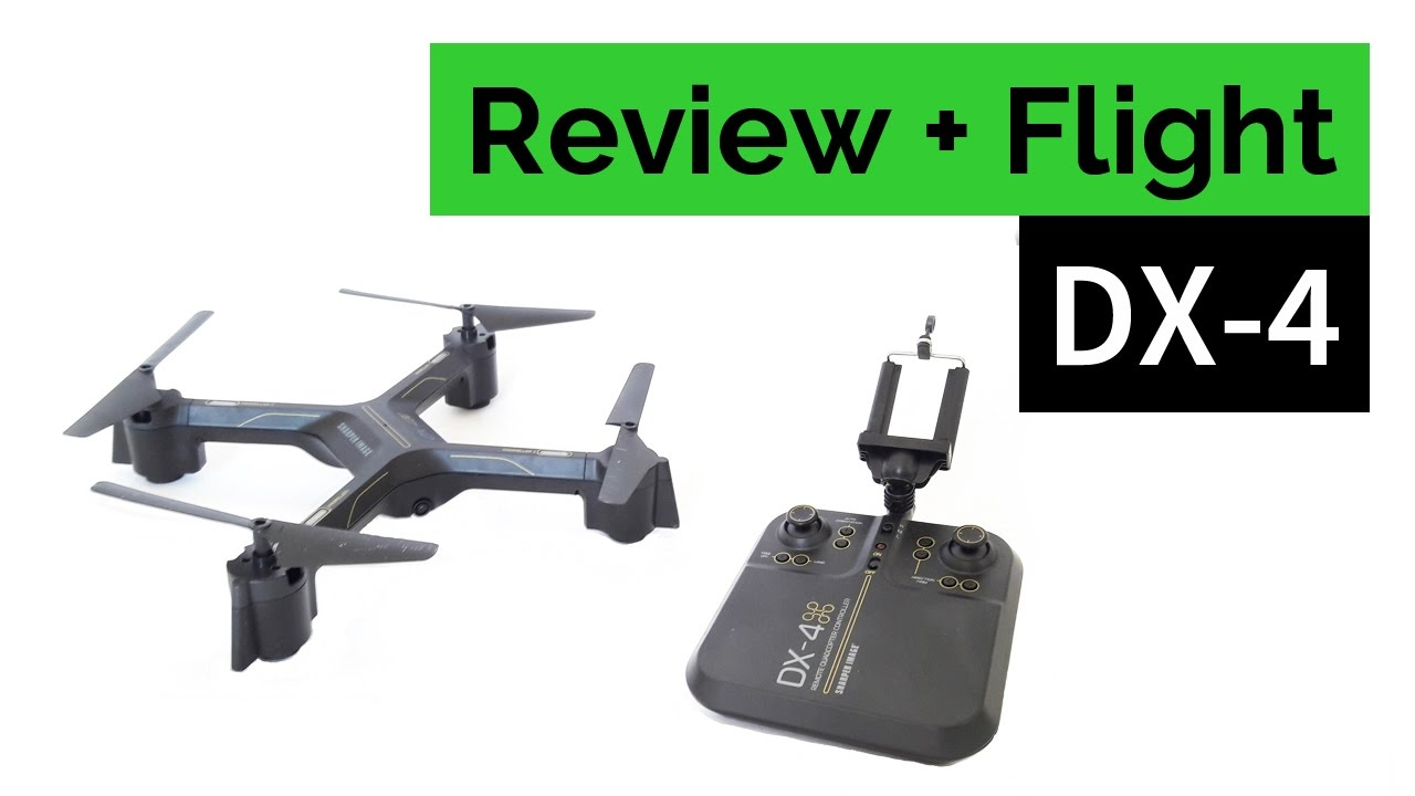 Sharper Image DX4 Streaming Drone Review and Flight YouTube