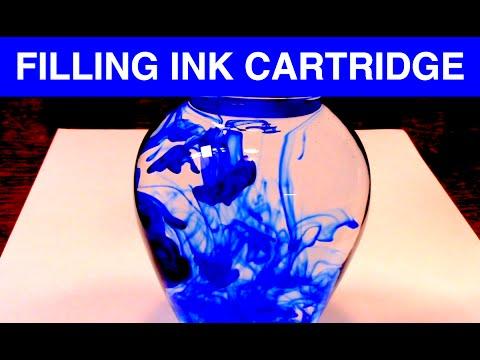 How I Refill an Ink Cartridge - ASMR