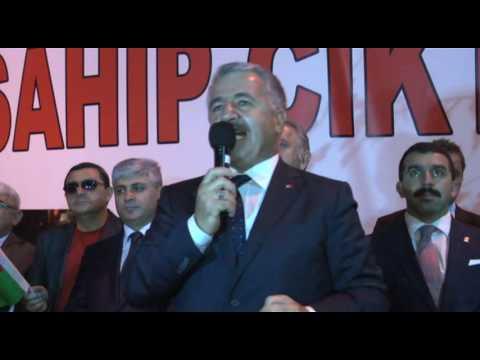 Ahmet Arslan - Kars'ta Demokrasi Şölenine Ortak Oldu