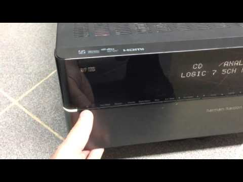 Harman/Kardon AVR 151S videos (Meet Gadget)
