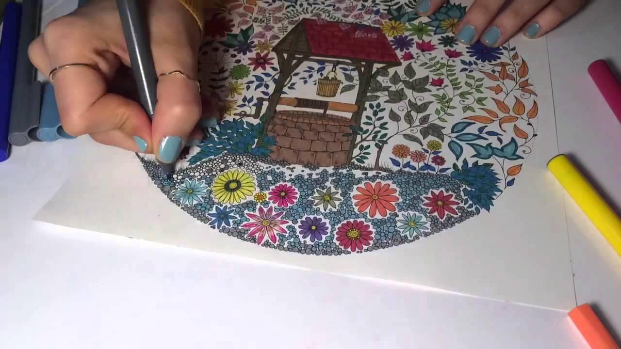 Secret Garden 7 Esrarengiz Bahce By Johanna Basford