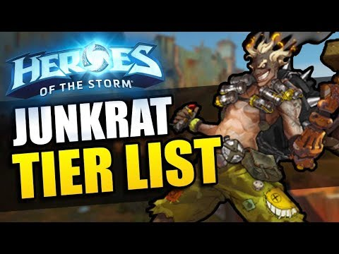 Junkrat patch - Tier List // Heroes of the Storm