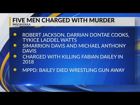 5 Mississippi men charged with murder in 2018 party killing
