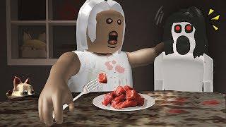 Roblox กินข้าวนะ...หลานรักของยาย GRANNY Dinner [ Midori ] เหมียวซัง