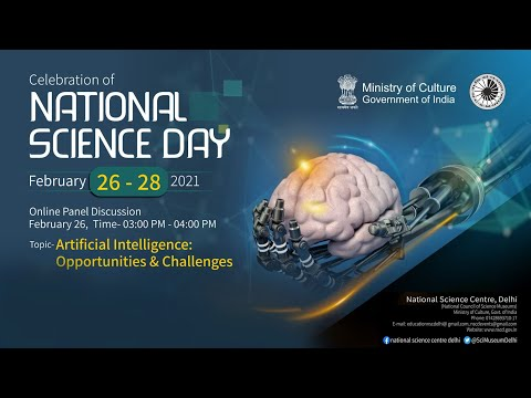 Panel Discussion on Artificial Intelligence: Opportunities & Challenges