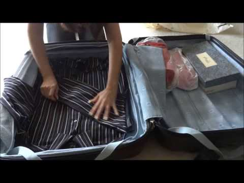 How to pack a suitcase without wrinkles. How I pack for My Trips
