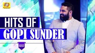 Hits of gopi sunder | latest malayalam movie songs | hit malayalam film songs 2017