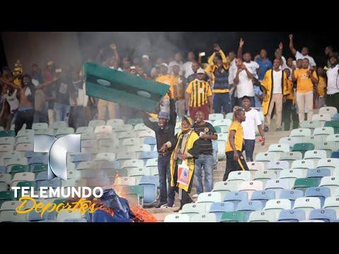 Violencia atroz en partido y la patada en la cara a una vigilante | Más Fútbol | Telemundo Deportes