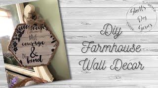 DIY Farmhouse Wall Decor