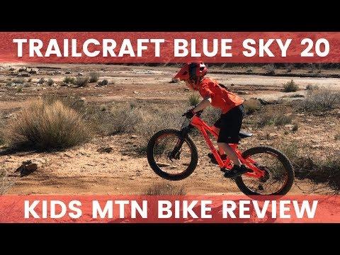 f5f026cfb9a Trailcraft Blue Sky 20 Inch Kids Mountain Bike Review