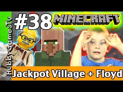 Minecraft Floyd #38, Jackpot Village! Xbox 360 Gameplay HobbyKids + Lego Floyd by HobbyGamesTV