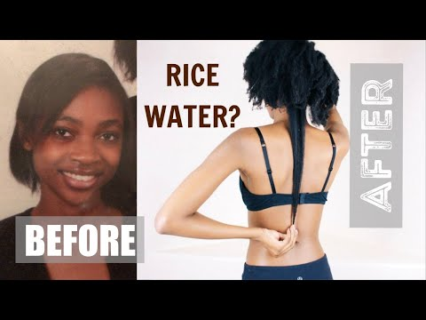 HOW TO USE RICE WATER FOR FAST HAIR GROWTH