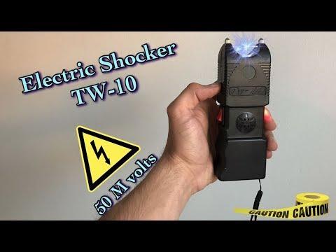 Tw-10 Stunt Gun/ Taser/ Electric Shocker 50M volts