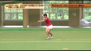 打球方向の判断力を鍛える 小峯秋二のソフトテニス進化論