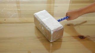 how to make a milkpack Thor's hammer 우유팩 토르망치