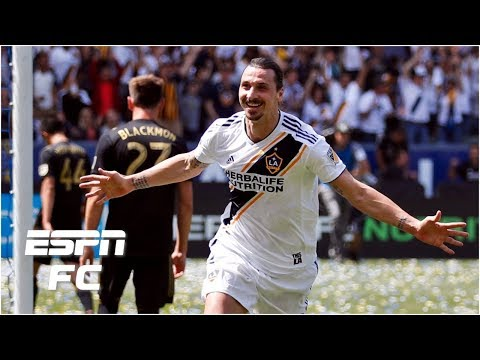 Zlatan Ibrahimovic scores two amazing goals in MLS debut | ESPN