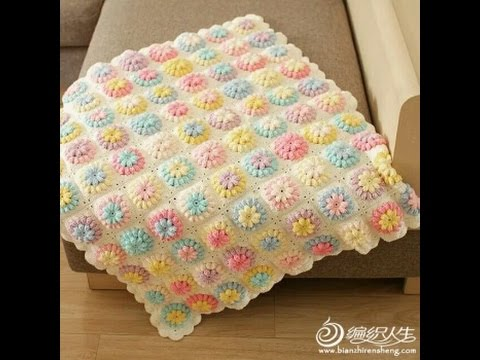 Crocheting Patterns Youtube : crochet baby blanket FreeCrochet Patterns473 - YouTube