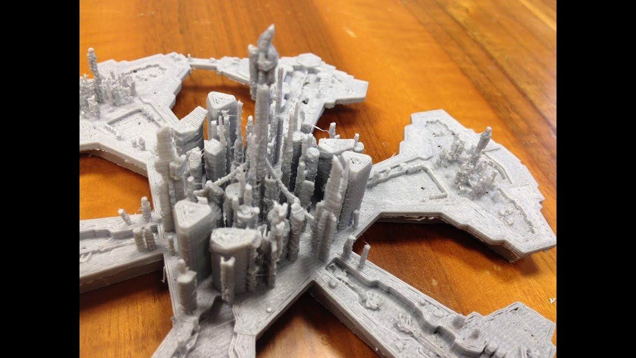 3d Blueprint Software Stargate Atlantis 3d Printing Plastico Della Mitica