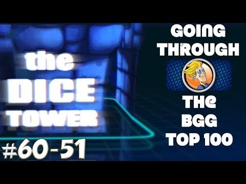 Going Through the BGG Top Rated (60-51)