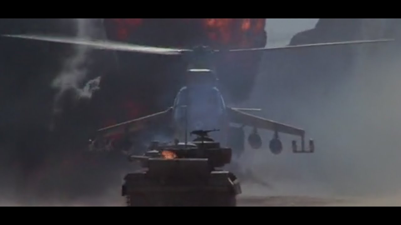 Attack helicopter vs tank. Insha Allah - YouTube