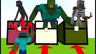 MINECRAFT DO NOT CHOSE THE WRONG CHEST ! SURVIVE THE CHEST !!!