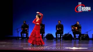 Cristina Aguilera. Premio de Baile Certamen Flamenco Desencaja 2015